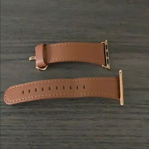 Like new genuine leather Apple Watch band